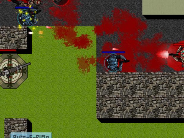 D.F Battlefield: Rise of Blue Demo (ver 1.0.0)