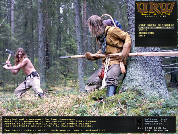 UnReal World RPG v3.16 windows