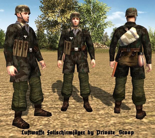 Luftwaffe Fallschirmjäger (HD)