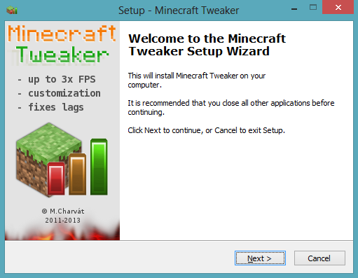 [OLD Launcher] Minecraft Tweaker 1.5.2_5.8