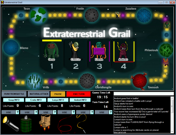 Extraterrestrial Grail version 1.2.0.1 (zip)