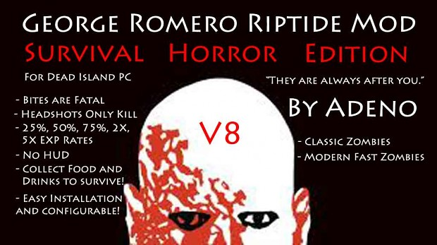 George Romero Riptide V8 Survival Horror Edition