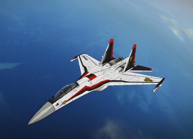 Su-35S Skull Four