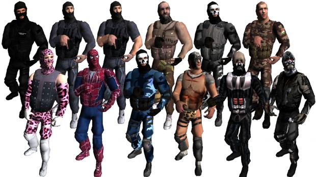 Jhoony's Swat 4 Skins (Custom Skins)