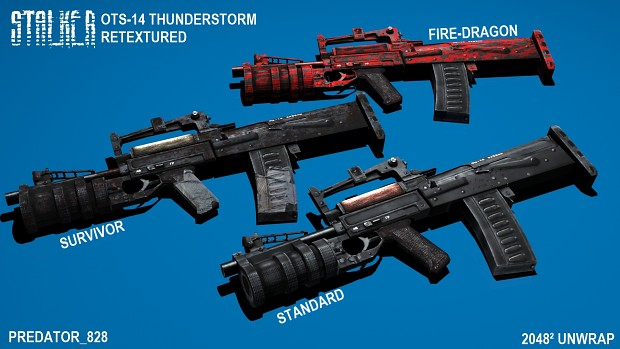 OTS-14 Thunderstorm Retextured