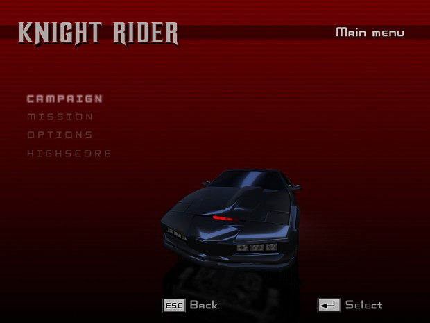 Knight Rider The Game demo