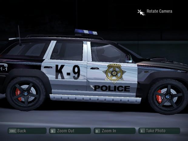 Fantasy Cop car Texture Mod