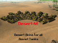 Desert-M - Desert Skins for all Soviet Tanks [HD]