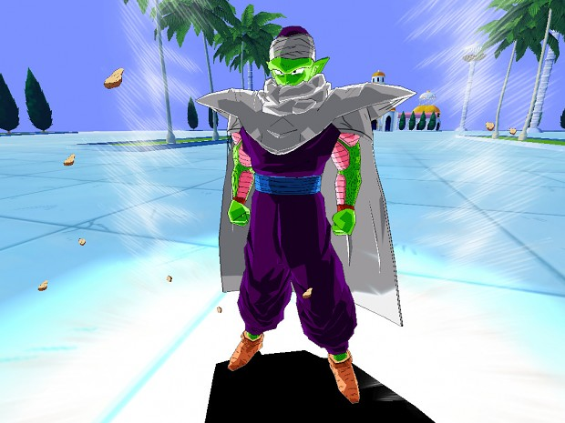 Piccolo with cape