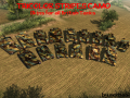 Tricolor Stripes Camo Skins for all GBTanks [HD]