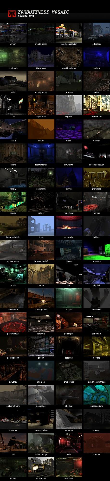 Miasma Map Pack