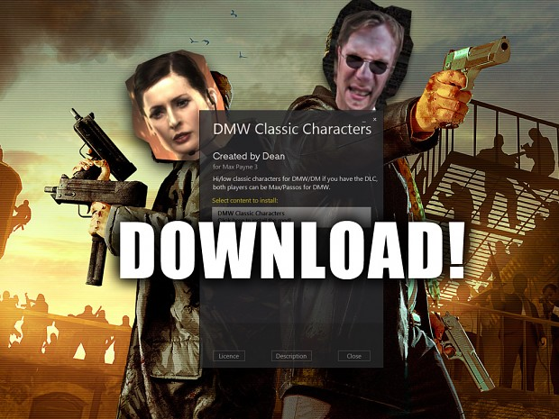 DMW Classic Characters Mod