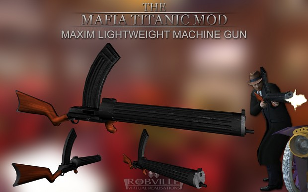 Maxim Lightweight Machine Gun