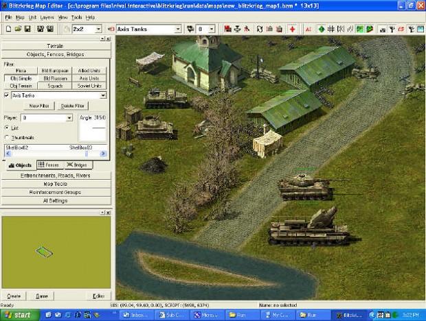 Blitzkrieg Map Editor