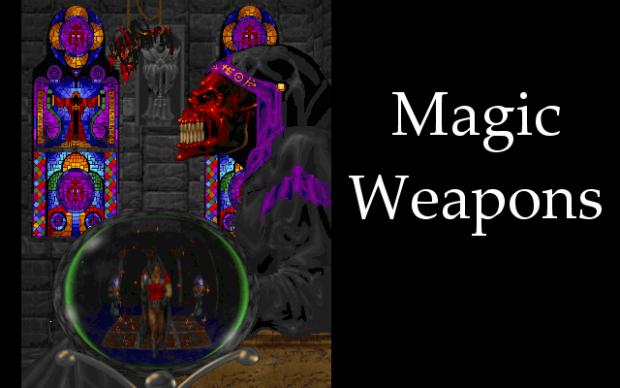 WilliamMacau's Magic Weapons