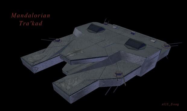 Mandalorian Tra'kad - Rotating turrets