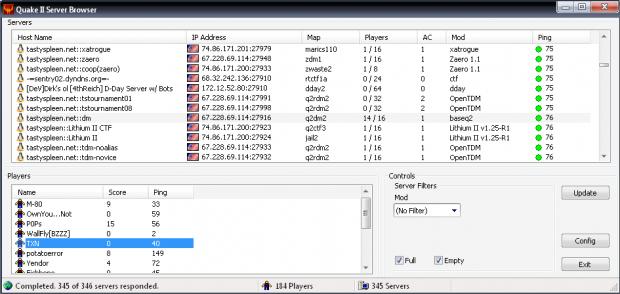 r1ch.net Quake 2 Server Browser Beta 3