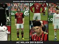 AC Milan 2013 - 2014 Kits by Bryan E3