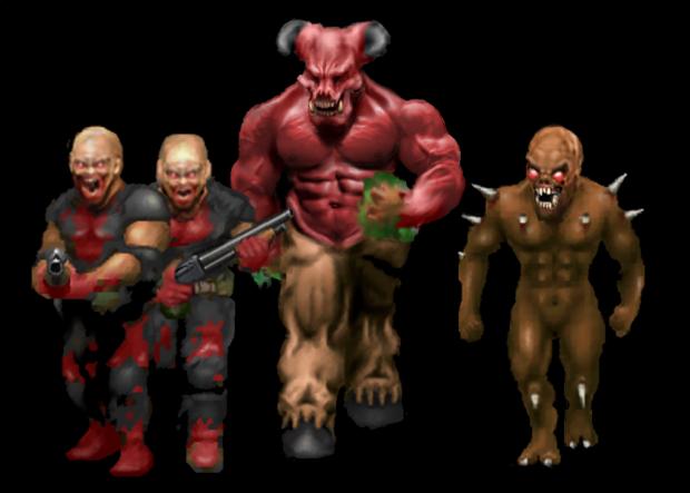 Doom 8x Sprite Project v0.3