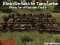Klein Gefleckte Tarnfarbe Skins f/a G. Tanks [HD]
