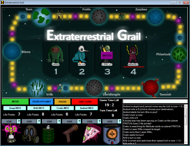 Extraterrestrial Grail version 1.2.0.4 (zip)