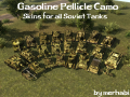 Gasoline Pellicle Camo Skins f/a CCCP Tanks[HD]