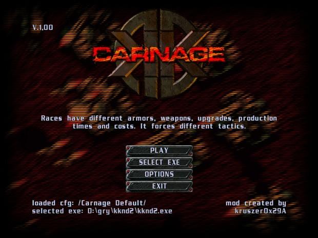 KKnD2: Carnage v.1,28