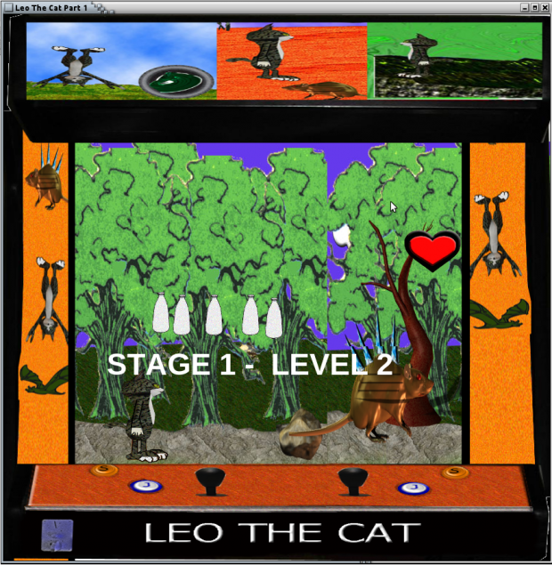 Leo The Cat Part 1 Linux 32bit