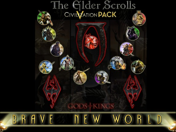 The Elder Scrolls Civilization V Pack (BNW)