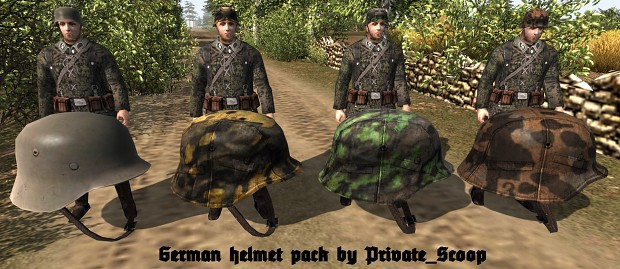 Scoop's German Equipment Pack #1