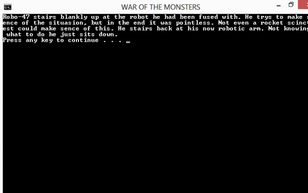 WAR OF THE MONSTERS V 0.1