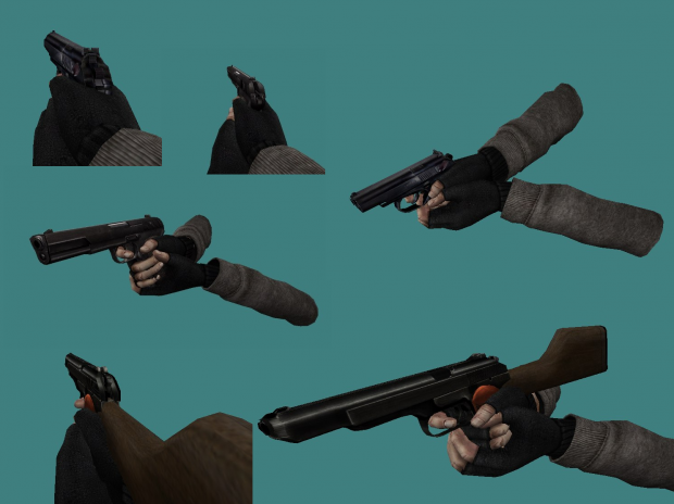 Cry Of Fear Russian Pistol Pack