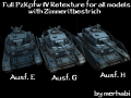 Full PzKpfw IV Retexture for all Models [HD]