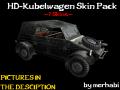 HD-Kubelwagen Skinpack (7 Skins)