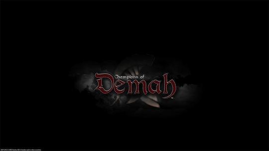 Champions of Demah - Logo Wallpaper HD