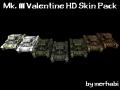 Mk. III Valentine HD Skin Pack