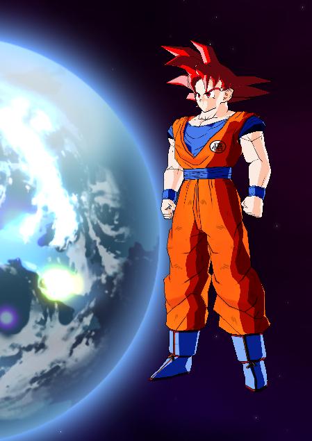 Goku GOD (pedido)