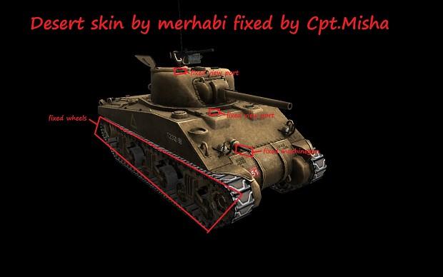 M4A4 desert skin fix