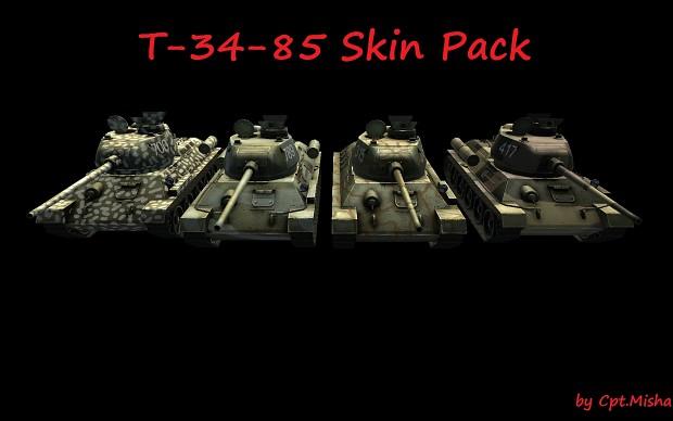 T-34-85 skin pack