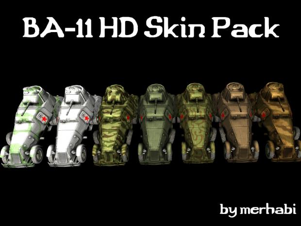 BA-11 HD Skin Pack