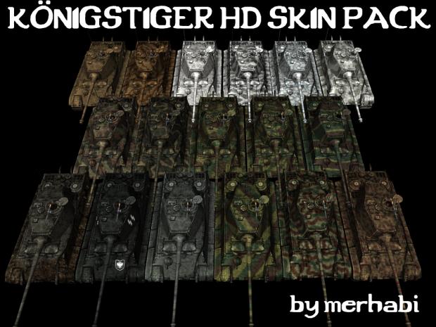 Königstiger HD Skin Pack