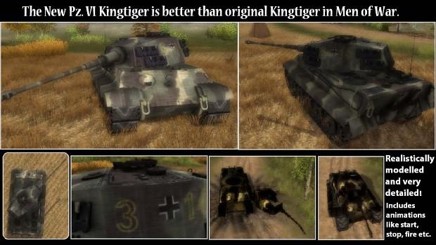Pz. VI Kingtiger 1.1