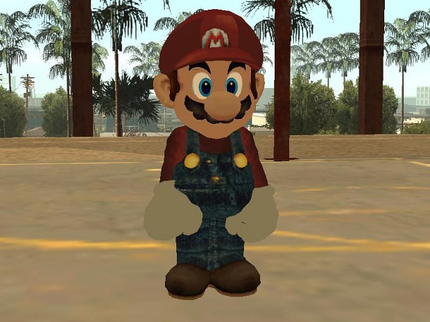 Mario ssbb GTA SA