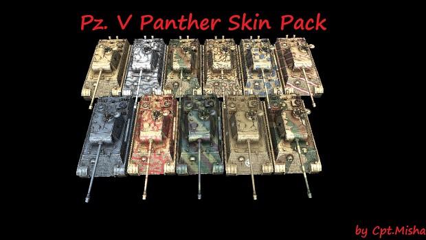 Pz. V Skin Pack