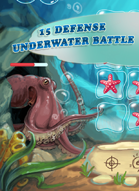 15 Defense. Underwater Battle