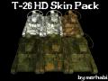 T-26 HD Skin Pack