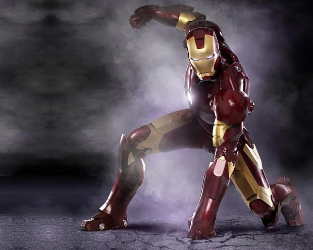 Iron Man Ground Punch(rocks)