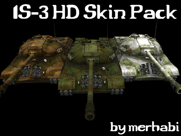 IS-3 HD Skin Pack