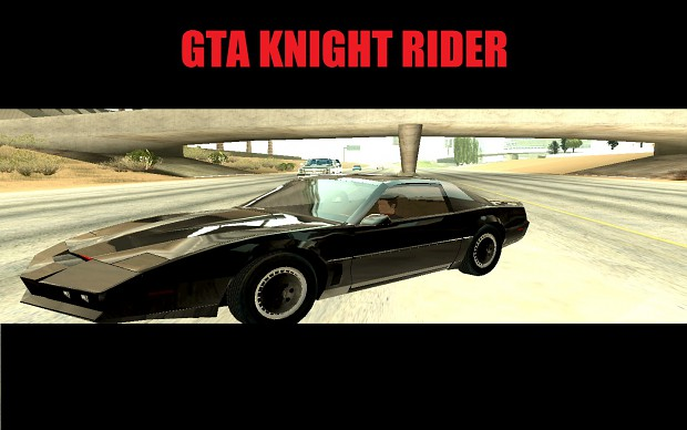 Knight Rider Old School MOD 0.3b (Fixed)