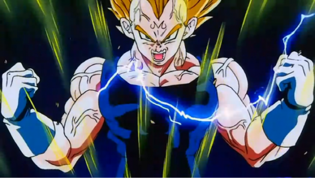 Vegeta's pride! Powerup audio for Majin Vegeta :)